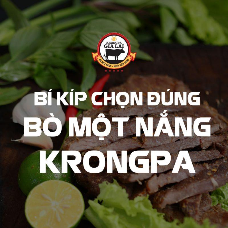 Bò Một Nắng - Bí kíp chọn đúng sản phẩm Bò một nắng Krông Pa